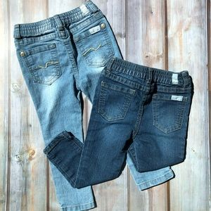 7 For All Mankind Jeans size 24 M (2 pairs)